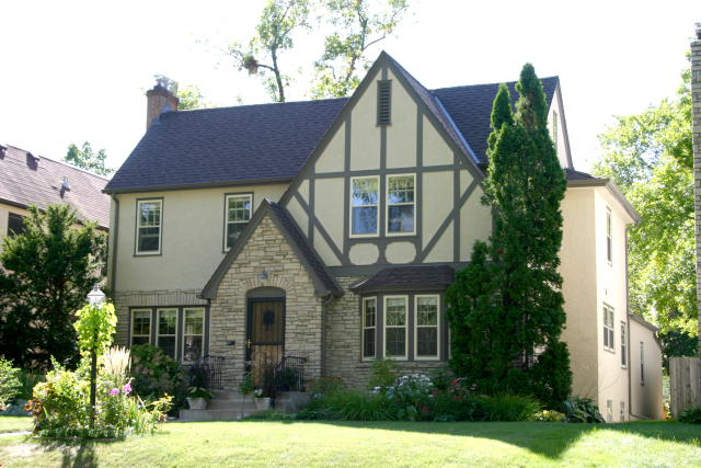 Tudor houses of minneapolis for Tudor colonial style home